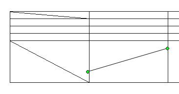 разделить ячейку по диагонали в word